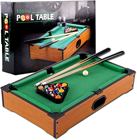 WXS Snooker Portátil Piscina Mini Mesa De Billar Infantil Mesa De Billar del Hogar Juguetes Educativos: Amazon.es: Deportes y aire libre