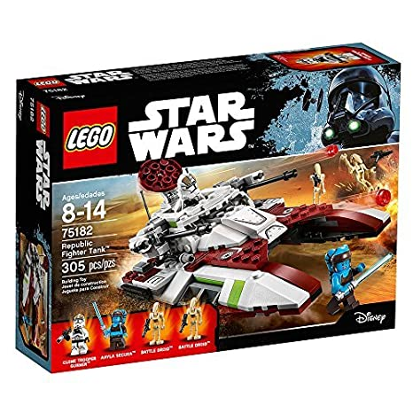 Amazon.com: LEGO Star Wars Republic Fighter Tank 75182 Building Kit ...