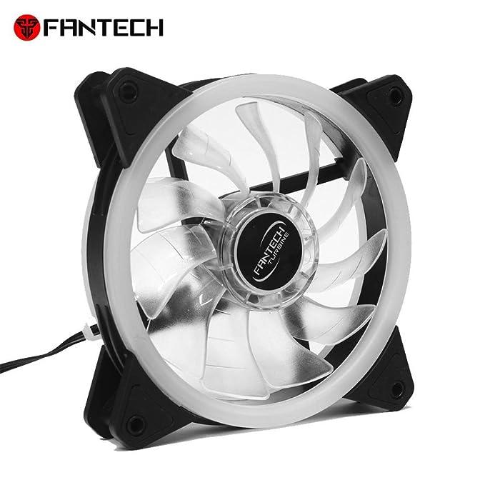 Amazon Com Fantech Fc 124 Pc Desktop Tower Computer Fan Case