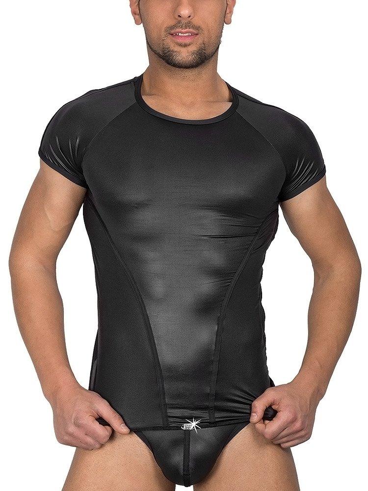 Eros Veneziani Alessio: T-Shirt, schwarz (M/L)