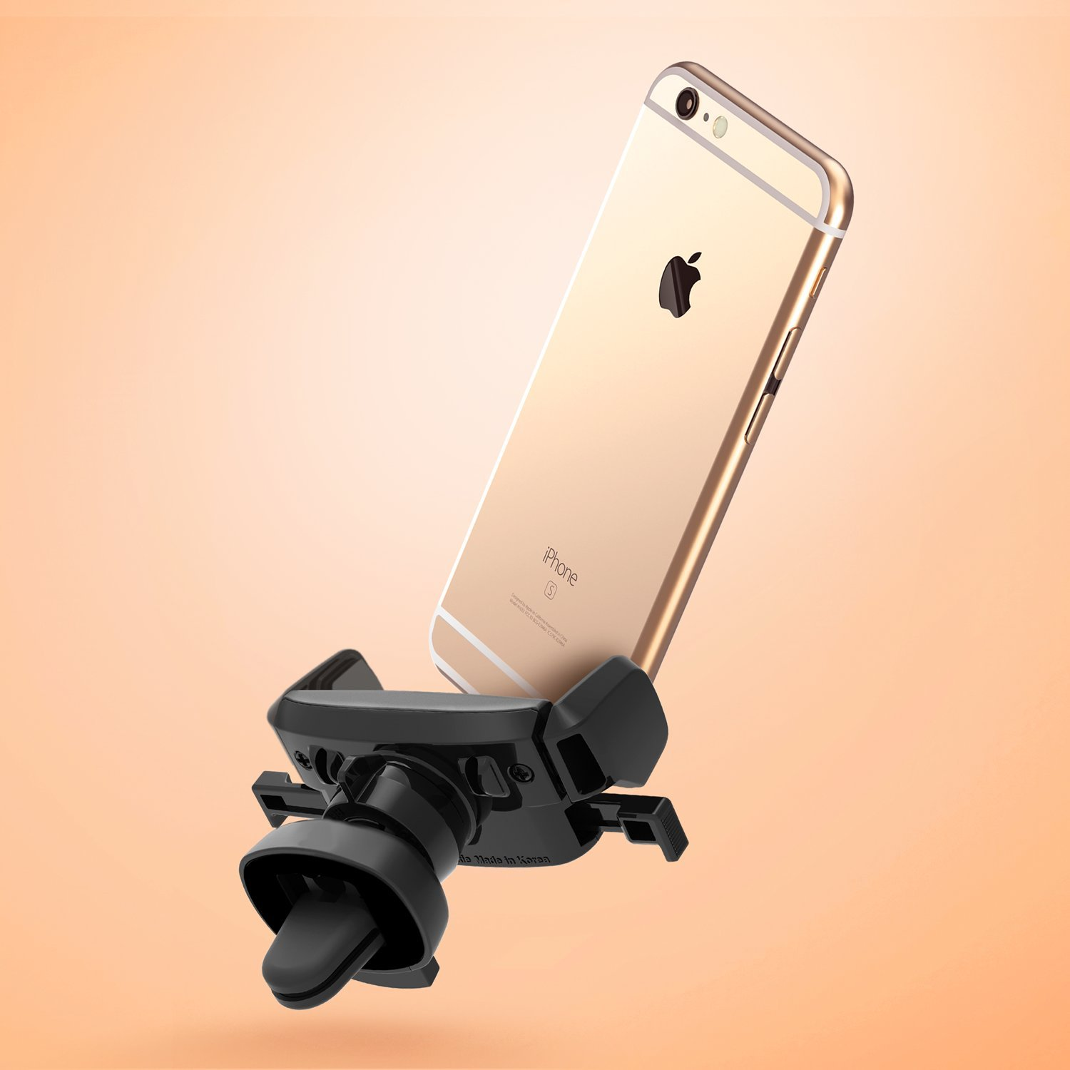 iphone car mount iottie easy one touch mini air vent car mount holder 1627