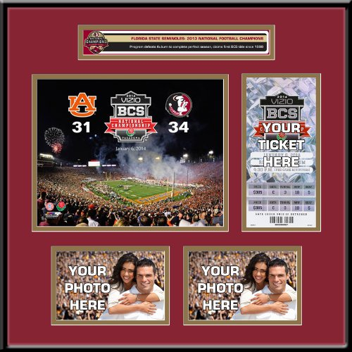 (2013 Football National Champions Ticket Frame - Florida State Seminoles)