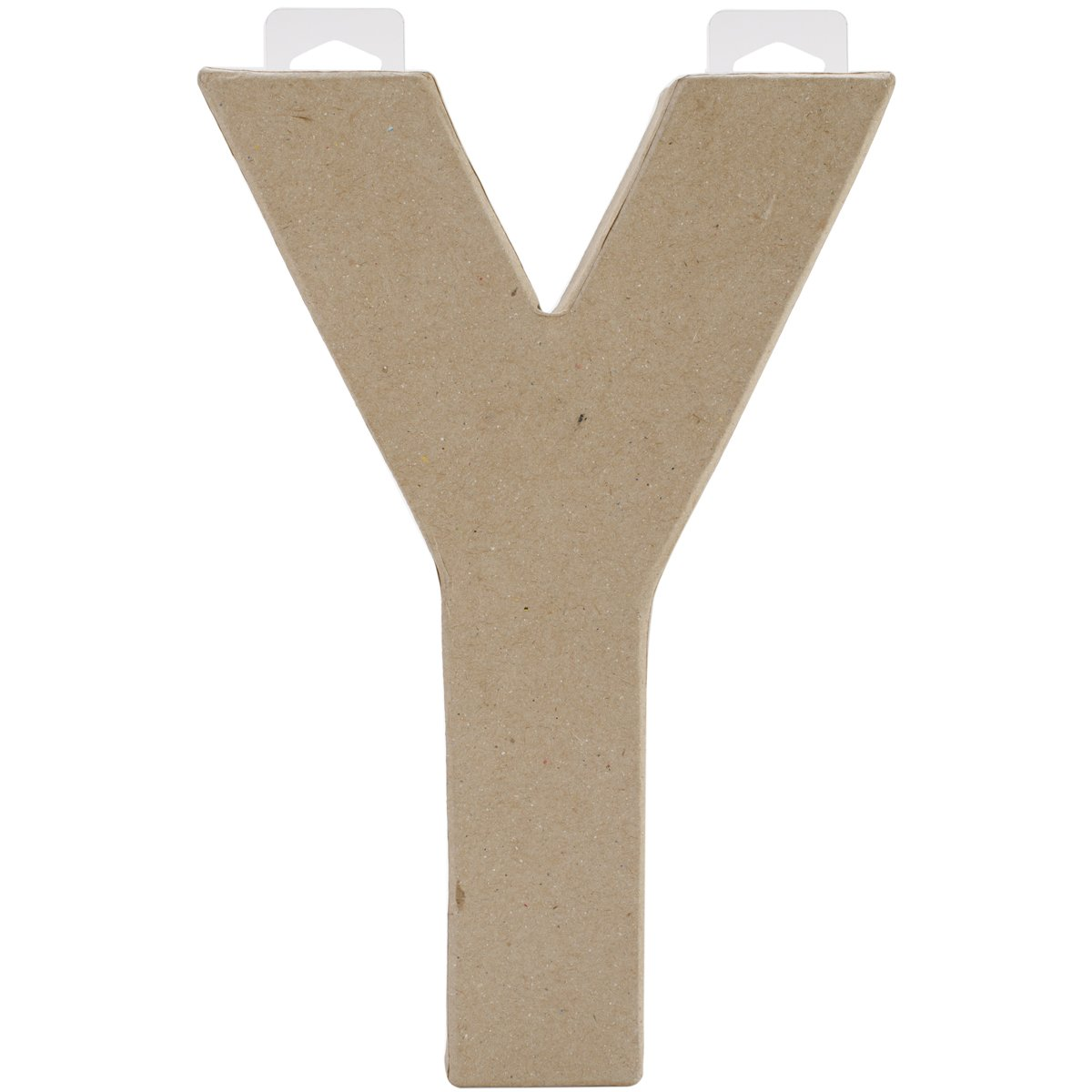 Darice Paper Mache Letter - Y - 8 x 5.5 x 1 inches 2862-Y
