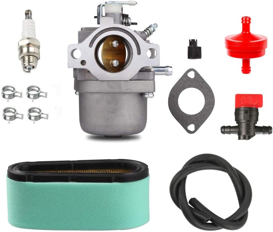 Wilk 799728 Carburetor Carb for Briggs & Stratton Intek 498027 498231 499161 Vergaser 12.5HP Ride Mower with Tune up Kits