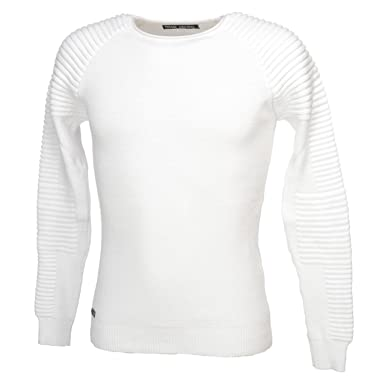 Paname brothers Popy off white pull Pull fin Blanc