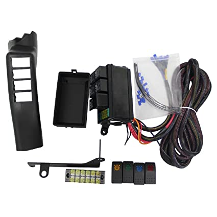 vosicky jeep jk control box electronic 6 relay system module
