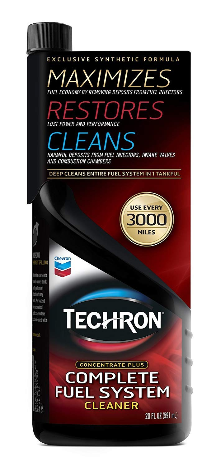 Chevron Techron Concentrate Plus Fuel System Cleaner, 20 oz,pack of 3 by Chevron