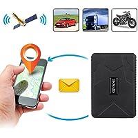 Hangang Rastreador GPS Magnético, 120 días Gps Tracker en Espera Localizador GPS Dispositivo de Seguimiento en Tiempo Real, para Coche, moto, bicicleta con La Aplicación Gratuita Apoyo Andriod y IOS