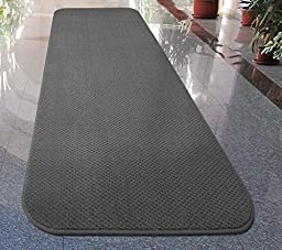 Skid-resistant Carpet Runner - Gray - 4 Ft. X 27 In. - Many Other Sizes to Choose From