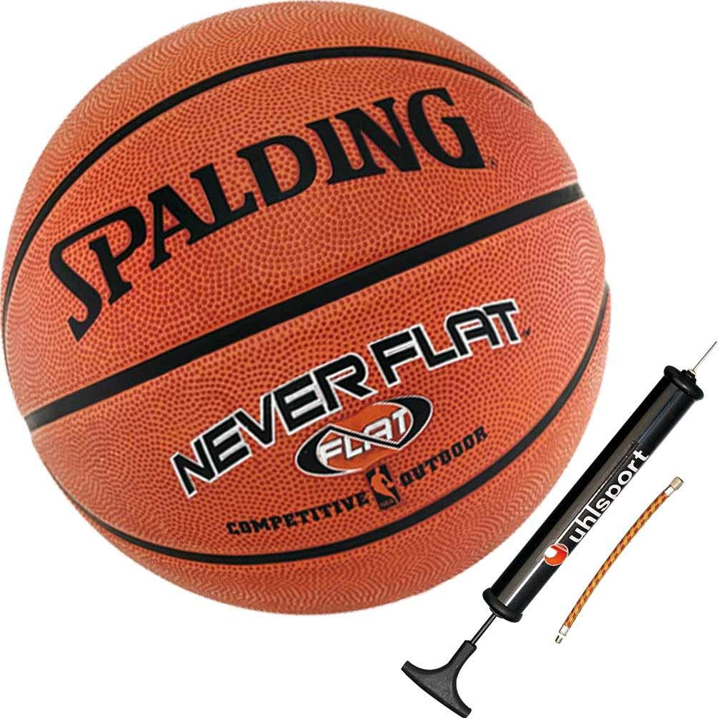 Spalding Neverflat - Balón de Baloncesto para Exteriores (Talla 7 ...