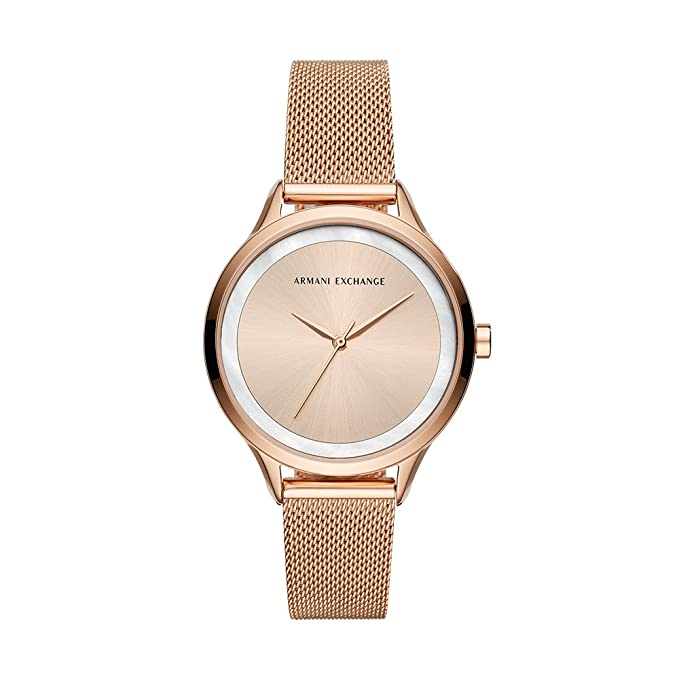00ff463195af Buy Armani Exchange Analog Multi-Colour Dial Women s Watch - AX5602 Online  at Low Prices in India - Amazon.in