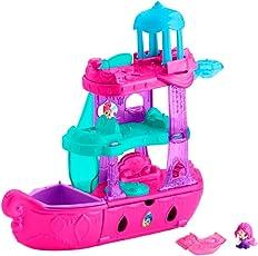 Mattel Playset Fisher Price Shimmer & Shine Crucero Joyas Mágicas de Genios