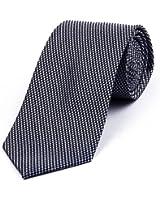 DonDon Cravate homme 7 cm classique fait main pour le travail ou occasions spéciales