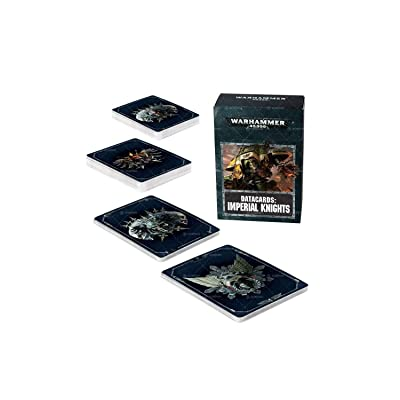 Games Workshop Warhammer 40k Imperial Knights Data Cards: Toys & Games