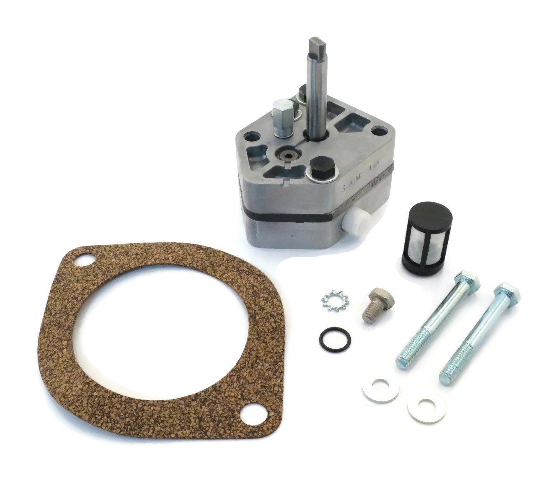 Snow Plow Hydraulic Pump Kit 49211 for Western Snowplow Blade - Buyers 1306478