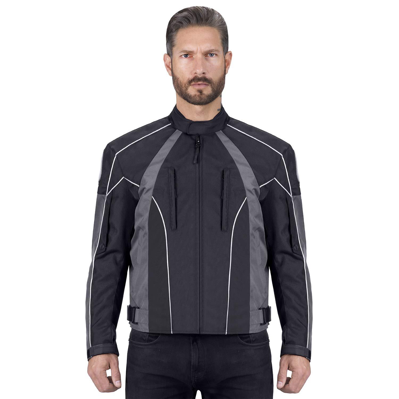 Viking Cycle Thor Motorcycle Jacket for Men (X-Large)