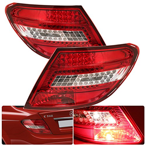 C Class W204 Led Tail Lights
