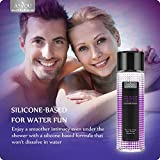 Anjou Silicone Personal Lubricant Intimate Sex Lube for Women and Men, 510(k) FDA Approved, Suitable for All Non-silicone Sex Toys, Condoms and Sensitive Skin - 8oz