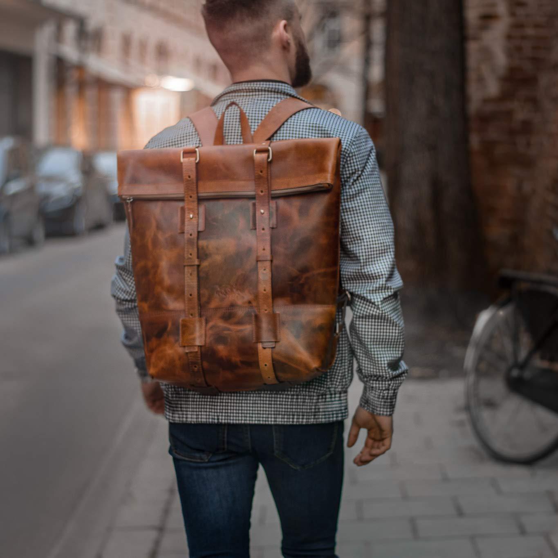 Rucksack-Backpack-braun-Leder-Mann-City-Rucksack