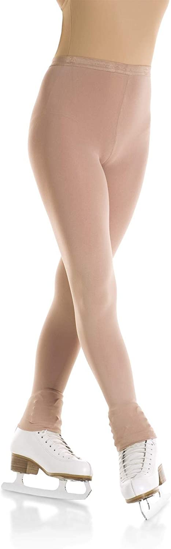 Mondor 3312 Girls/' Size 8-10 Suntan Footless Tights