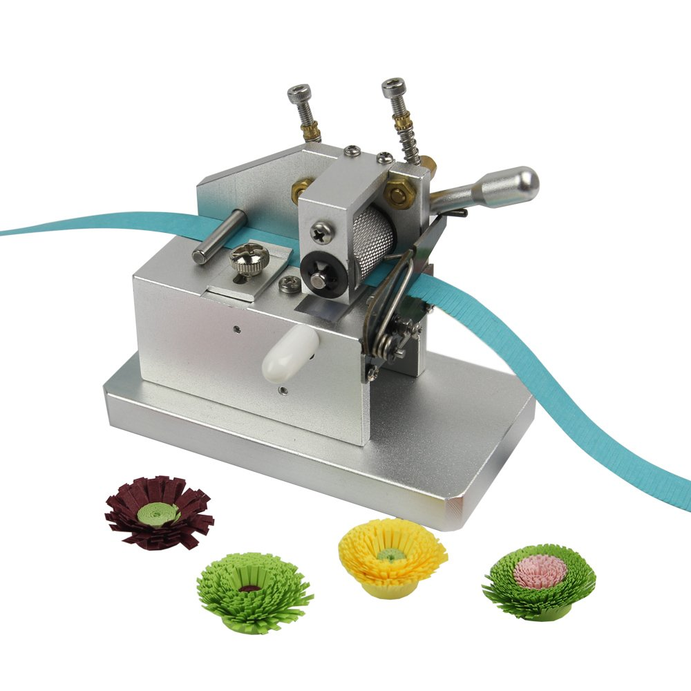 IMISNO Mini Craft Quilling Fringer Quilling Flower Making Tools Paper Tassel Cutting Machine by IMISNO