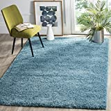 Safavieh California Shag Collection SG151-5858 Turquoise Area Rug (3' x 5')