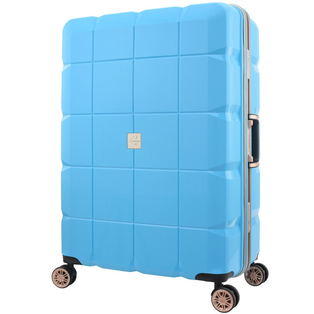 レジェンドウォーカー arc アーク 6023-70 高強度ポリプロピレン製ボディスーツケース 細深溝フレームタイプ 4輪ダブルキャスター TSAロック (ブルー) B0167U0VT6ブルー