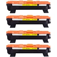 kit 04 toner compatível Brother Tn1060 Hl1112 Hl1202 Hl1212w Dcp1602 Dcp1512 Dcp1617nw