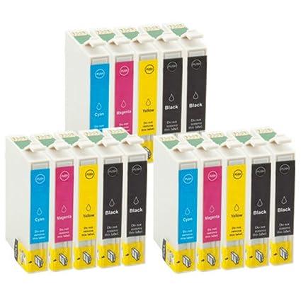 TiAN - 15 Compatible Cartuchos de tinta reemplazar T0611 T0612 ...