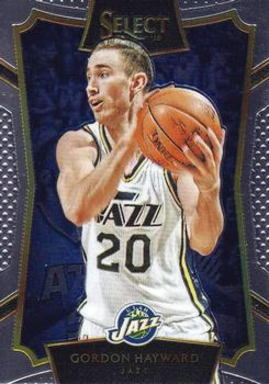 Amazon Com 2015 16 Select Basketball Concourse 34 Gordon Hayward Utah Jazz Official Nba Trading Card Made By Panini America Collectibles Fine Art