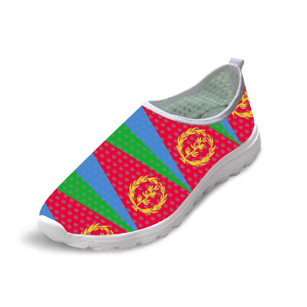 Owaheson Trail Runner Running Shoe Casual Sneakers Eritrea Flag