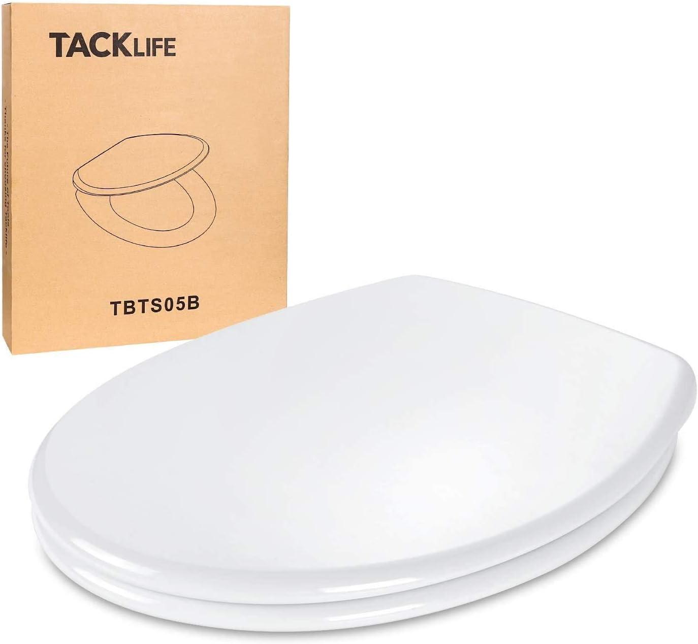 Tapa WC, TACKLIFE TBTS05B Asiento de Inodoro en Forma ...