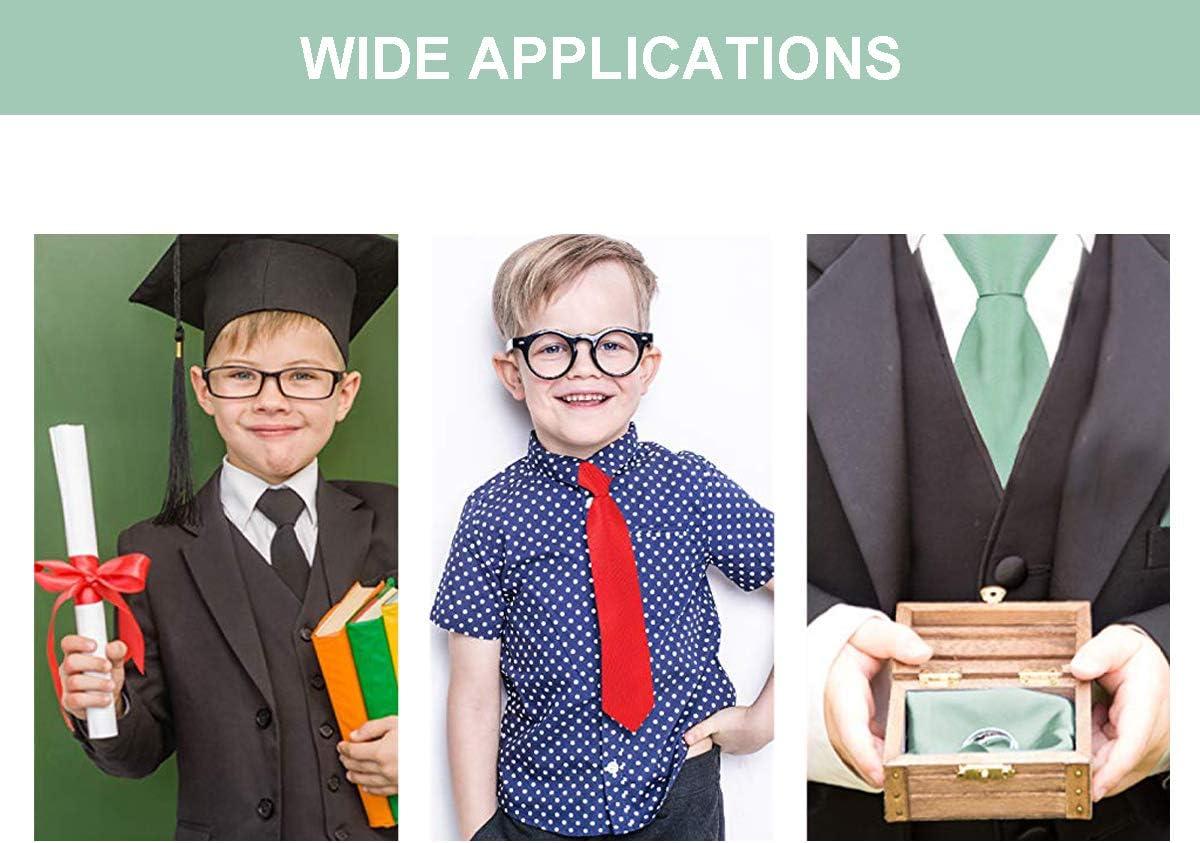 INWANZI Classic Stylish Necktie Boys Children Hawaiian Flower Hibiscus Tie for Wedding Party Graduation