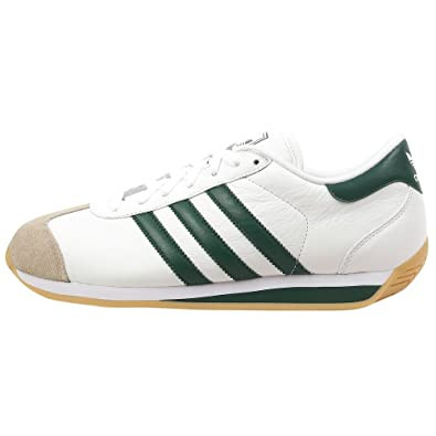 pretty nice b6cfb 5a6c5 adidas Originals Mens Country II Sneaker,WhiteGreenGum,6.5 M