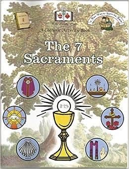 The 7 Sacraments A Catholic Activity Book: Holy Family Press ...