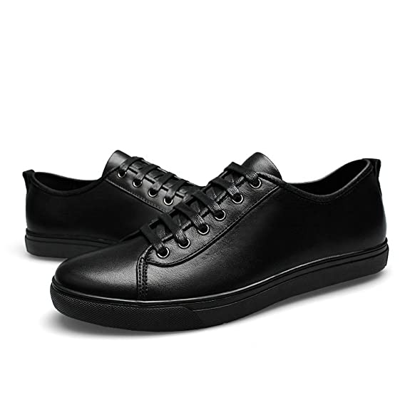 Men Leather Dress Loafers Casual Flat Sneakers For Men's Business Athletic 502