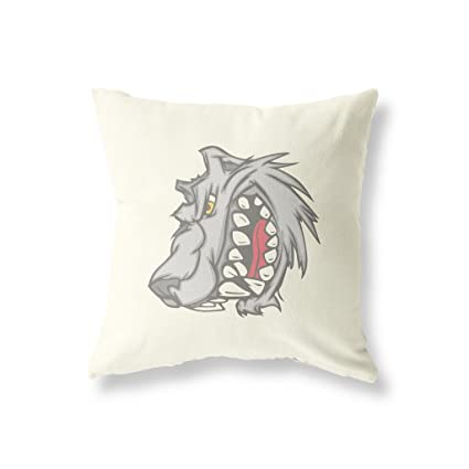 "Bad Wolf diseño de perro lebrel 18 ""x18"" (45 cm x 45"