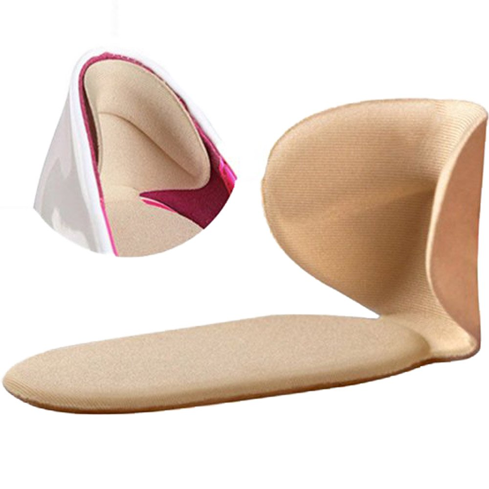 Heel Pads Cushion Grips Shoes Boots High Heels Gel Inserts