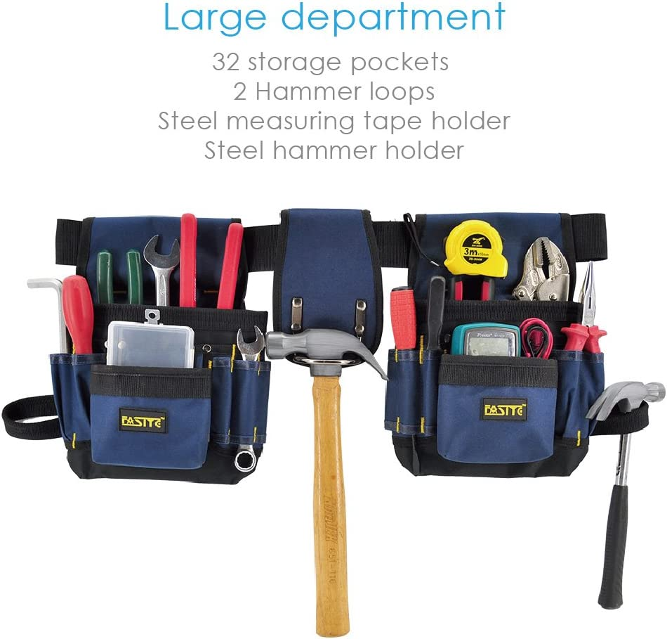 Amazon.com: FASITE, bolsa para herramientas de mantenimiento ...