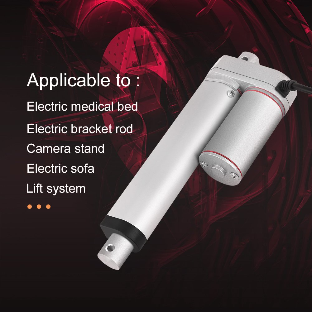Linearantrieb 24V elektrischer Hubmotor 750N Gerader elektrischer Linearantrieb 150mm Hub Hohe Beanspruchung