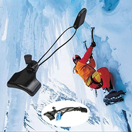 Balight Exterior portátil piolet Protector de la Cabeza Protectora Cubierta de Espiga Kit de Accesorios Senderismo Escalada Escalada