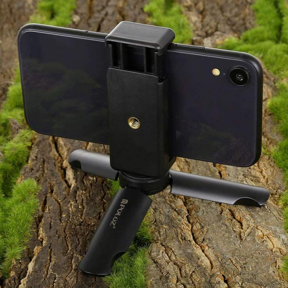 Mini Stand Tripod Mobile Phone Clamp Clip Portable Bracket Durable Stable Holder JLRL88 Mobile Phone Holder Qi Peng Cell Phone Stand