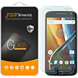[2-Pack] Motorola Moto G4 Plus / Moto G Plus (4th Generation) Tempered Glass Screen Protector, Supershieldz Anti-Scratch, Anti-Fingerprint, Bubble Free, Lifetime Replacement Warranty