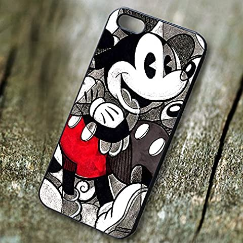 Best Mickey Mouse Retro for iPhone 7 Case (S3 Cases Mickey Mouse)