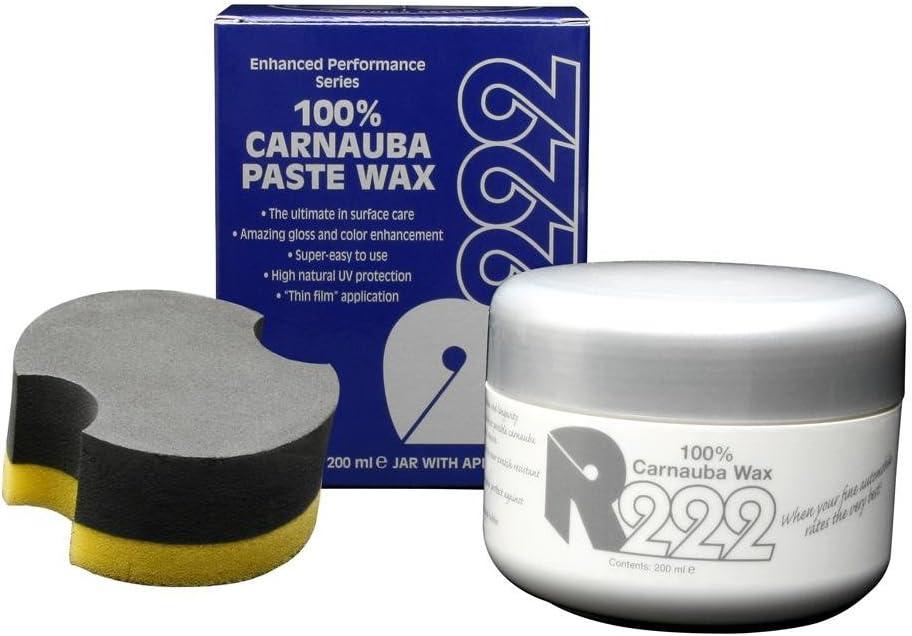 R222 100 Carnauba Paste Wax Hartwachs 200ml Auto