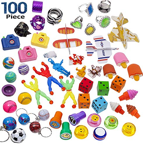 BDC Super Cool Toy Assortment (100 Pieces)]()