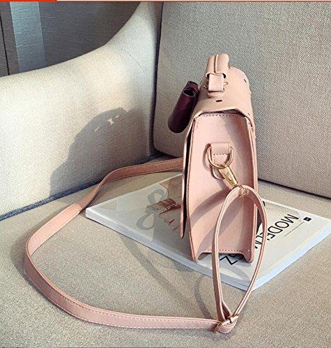 Femminile Lusso Arco Pochette Animato In Pelle Di Marche Meaeo Alta Rosa Borse A Donne Cartone Famoso Qualità Tracolla Design Bag xFOvn6ZW