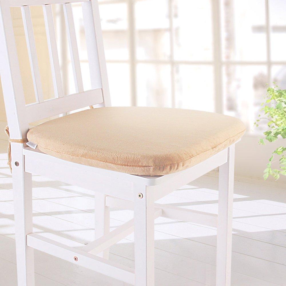 Amazon MochoHome Memory Foam Dining Chair Cushion Pad With Ties Coffee Kitchen