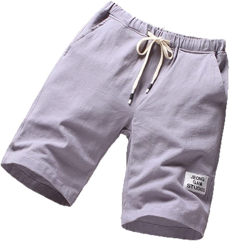 Fashion Casual Short Pants Summer Loose Shorts WEUIE Mens Outdoor Sports Quick Dry Gym Running Shorts with Pockets