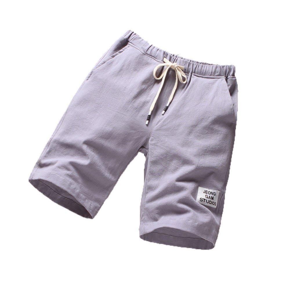 Mens Beach Pants Sports Breathable Fashion Pants Summer Fitness Running Pants